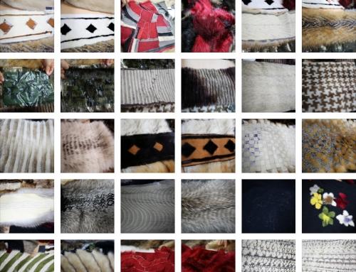 2016 Fur Designer's Workshop – 모피 스와치 사진